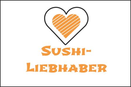 Über Sushi-Liebhaber