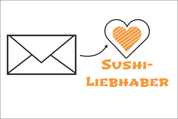 Kontaktiere Sushi Liebhaber