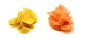 Gari - eingelegter Ingwer zu Sushi