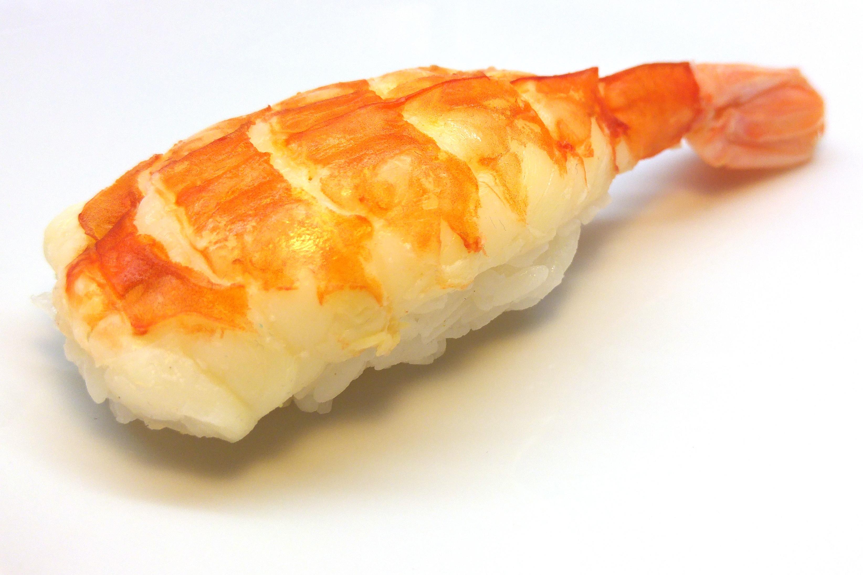 Nigiri Sushi mit Garnele