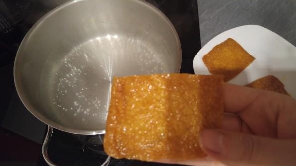 Tofutaschen kochen