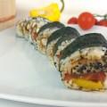 Schwarz rot gold Deutschland Sushi zur EM