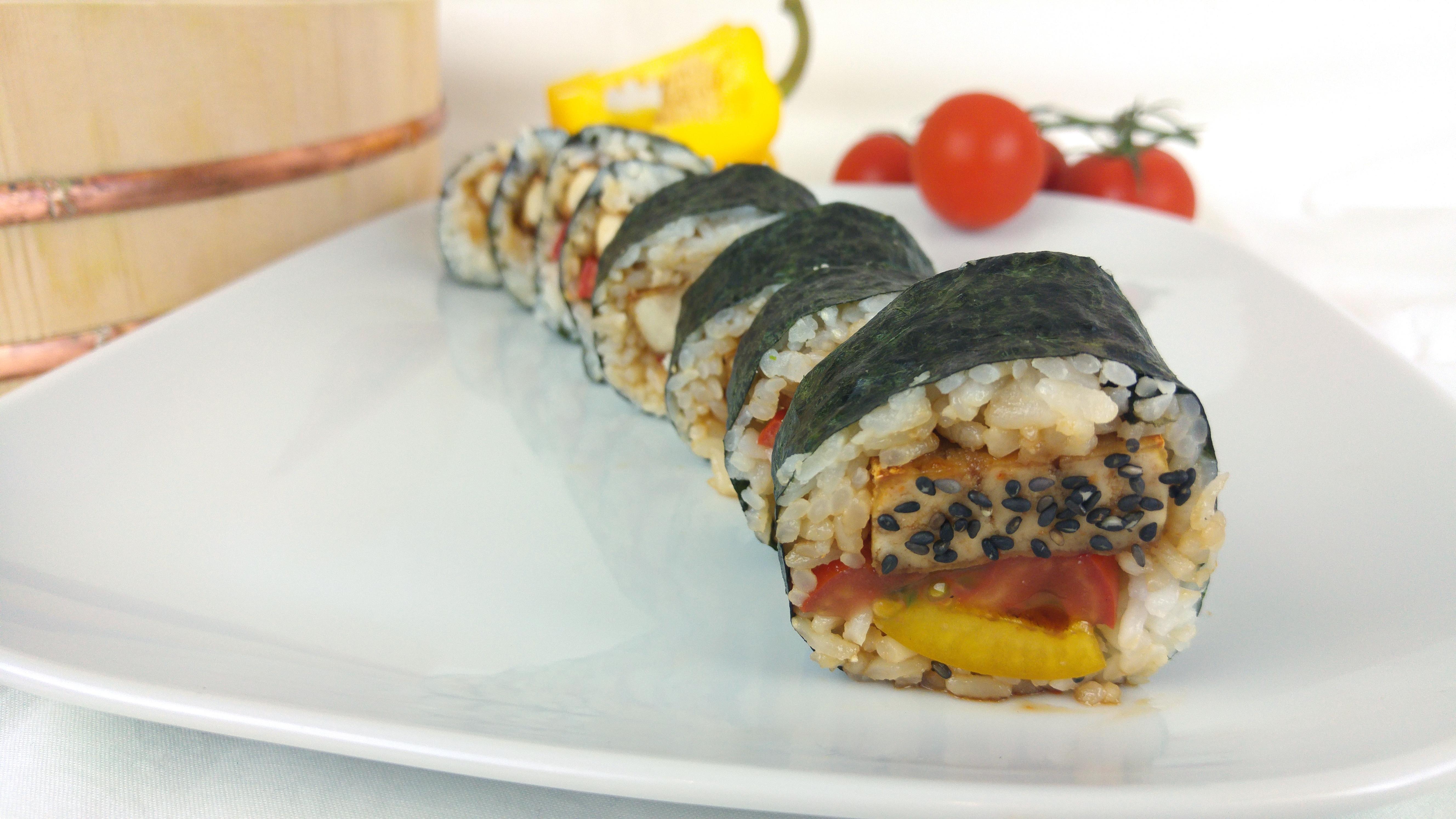 Schwarz rot gold Deutschland Sushi zur EM 2016