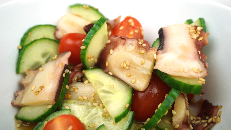 Japanischer Oktopus Salat – frisch und sommerlich
