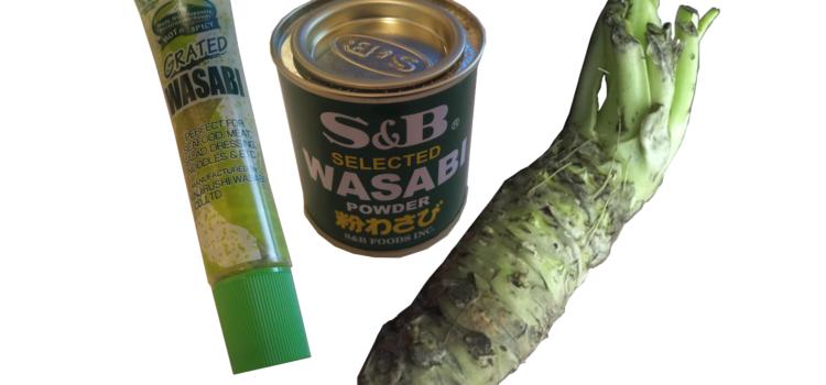 Was ist echter Wasabi? Vergleich zu Wasabi-Paste aus Tube und Dose