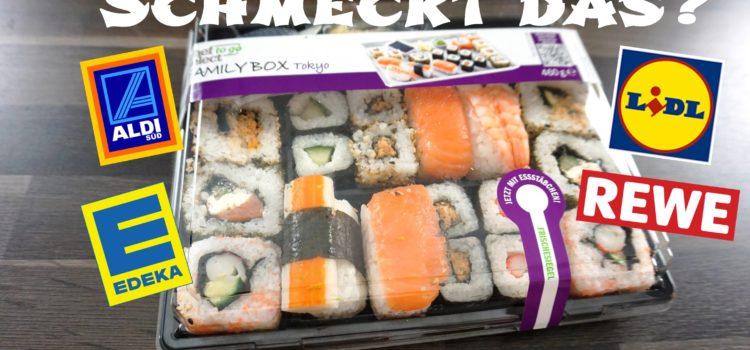 Schmeckt Sushi aus dem Supermarkt?