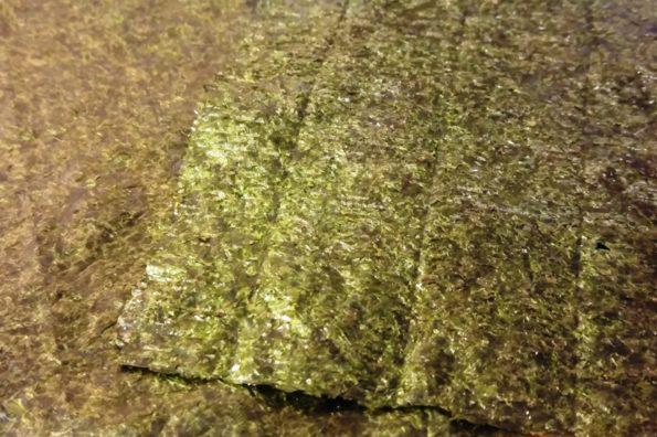 Nori-Algenblätter sind reich an Mineralien