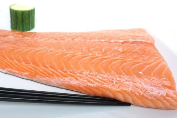 Nur qualitativ hochwertigen Fisch für Sushi!