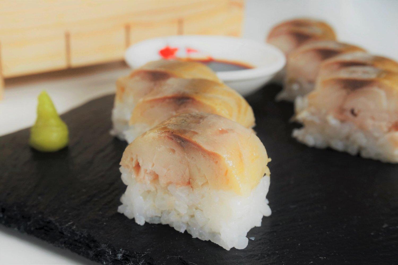Oshizushi - Sushi aus der Holzkiste